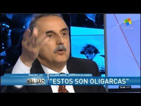 Guillermo Moreno en America TV 10/12/17