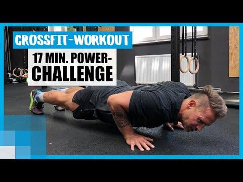 17 MIN CrossFit-Challenge: Schaffst du das Power-Workout mit Trainer René? ��