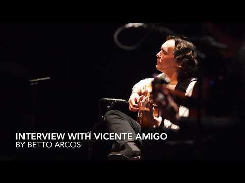 Interview with guitarist Vicente Amigo