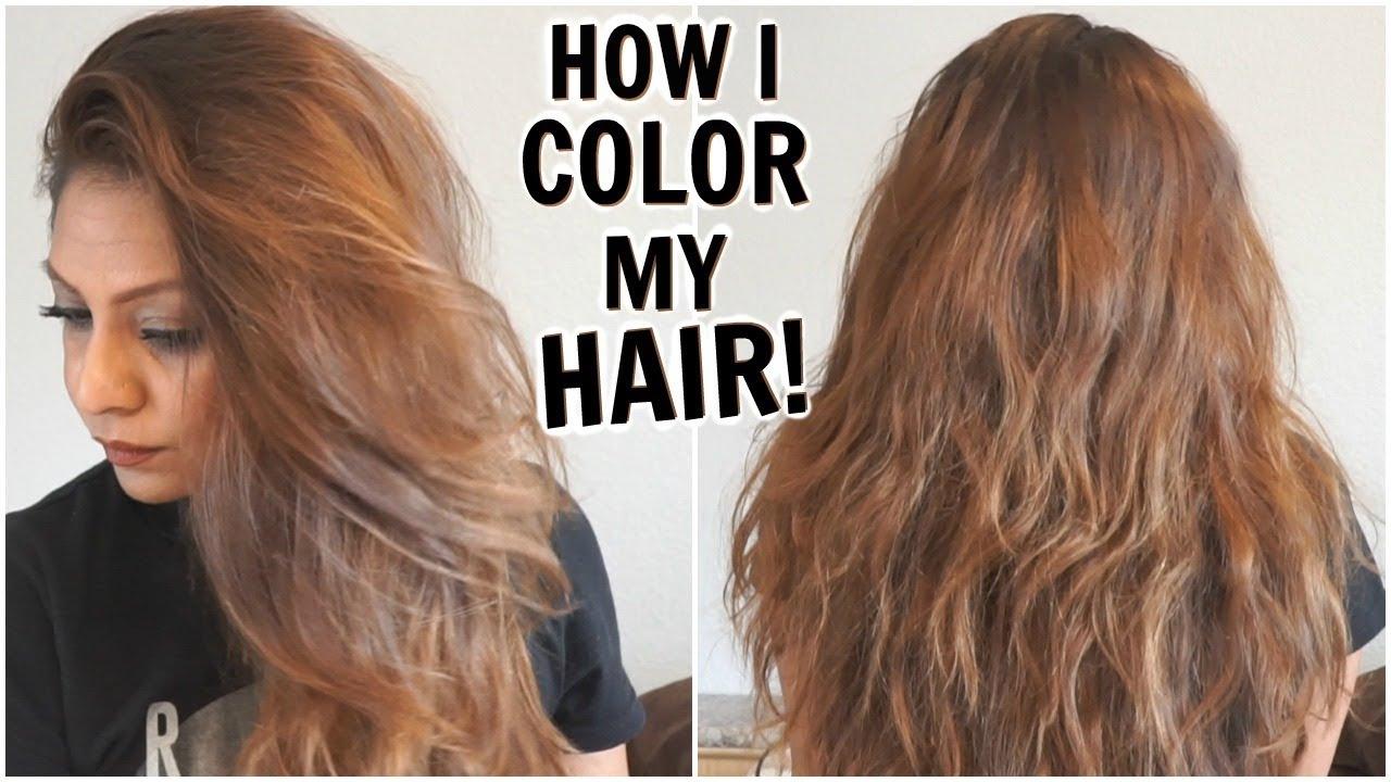 Dark Dye Home Brown Hair Brown Light