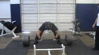 Dane Harris Deadlifting at Metroflex Gym in Plano, Tx