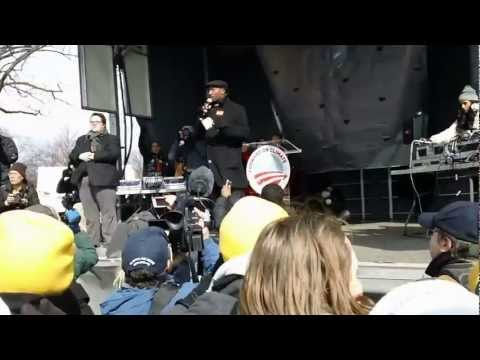 Van Jones Speaks at Anti-Keystone, Forward on Climate Rally (2/17/13)