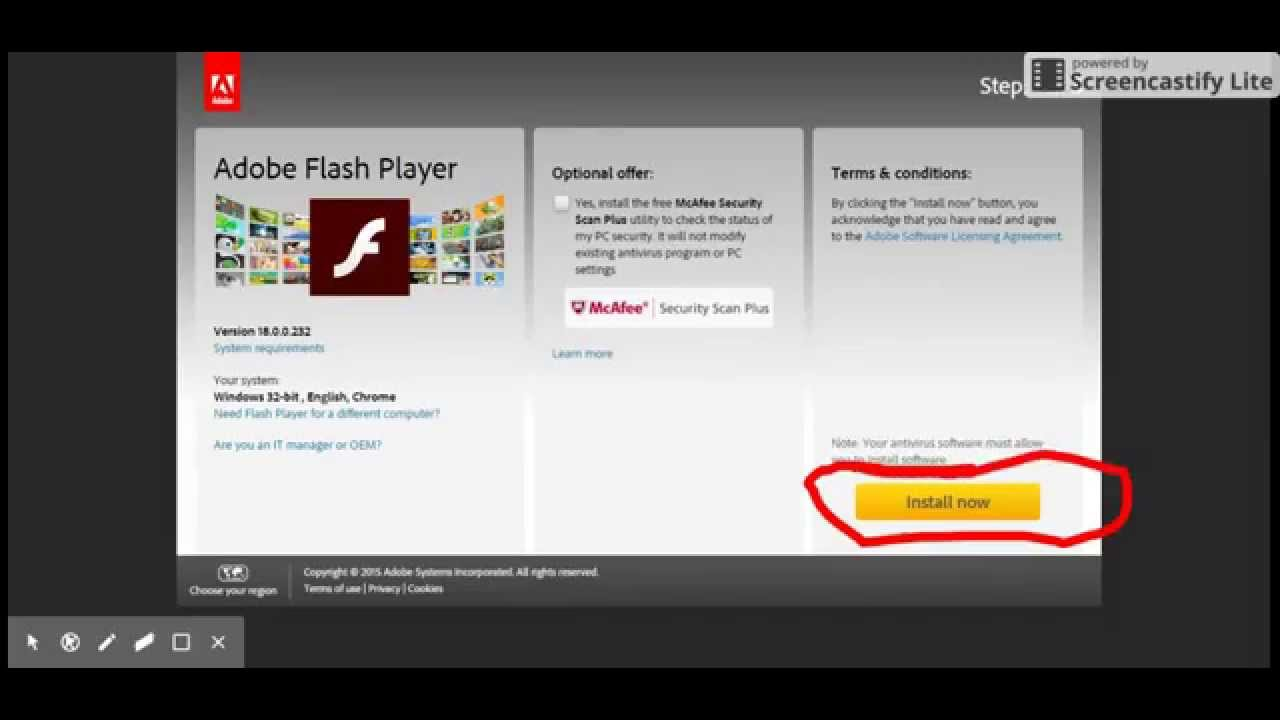 flash projector linux download