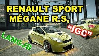 """NFS World Renault Sport Mégane R.S. """"IGC"""" Class A [LANGJB]"""