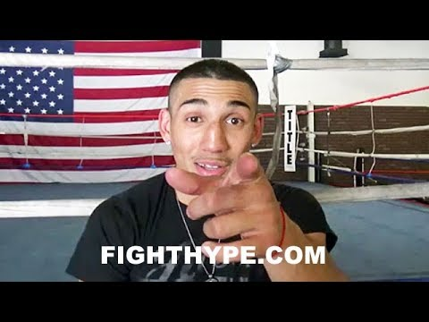 """TEOFIMO LOPEZ PUTS DEVIN HANEY ON NOTICE; REMINDS ABOUT SPARRING & SAYS HE """"KNOWS WHAT I CAN DO"""""""