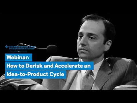 How to Derisk and Accelerate an Idea-to-Product Cycle