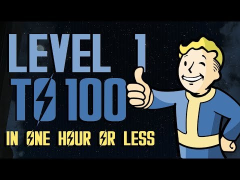FALLOUT 4 Level 100 UNDER 45 Mins EXTREMELY FAST & EASY |WORKING JAN. 2018 :D | XBOX ONE, PS4, PC