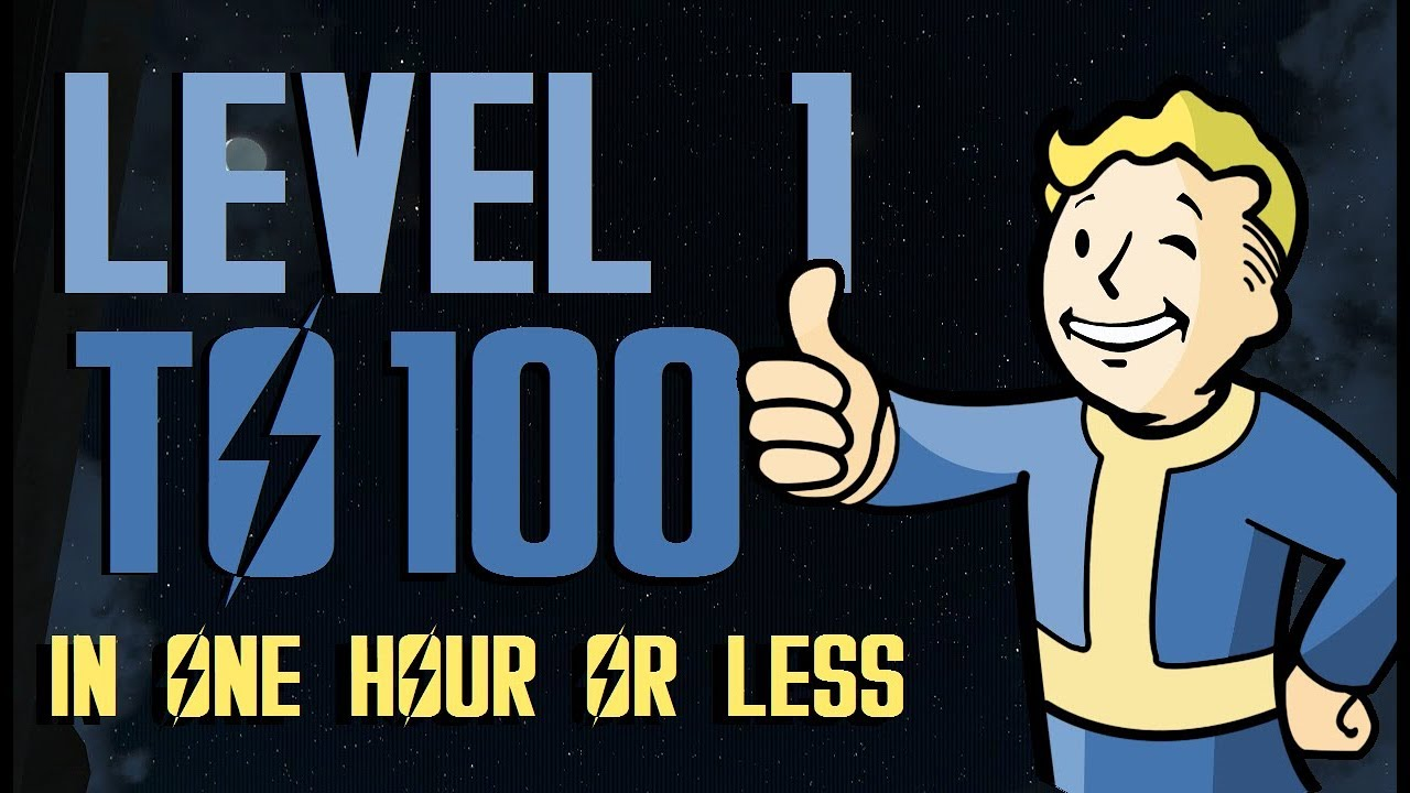 FALLOUT 4 Level 100 UNDER 45 Mins EXTREMELY FAST & EASY |WORKING OCT 2017 :D | XBOX ONE, PS4, PC