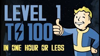 FALLOUT 4 Level 100 UNDER 45 Mins EXTREMELY FAST EASY WORKING JUNE. 2018 D XBOX ONE, PS4, PC