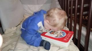 Прикол  АБЕТКА ТРУДНЫЙ УРОК  учим абетку в 1 год Видео для детей