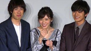 女優の松岡茉優が30日、TOHOシネマズ六本木ヒルズで行われた映画『勝手...