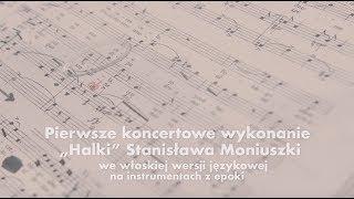 """""""Halka"""" Stanisława Moniuszki w włoskiej wersji językowej - zapowiedź"""