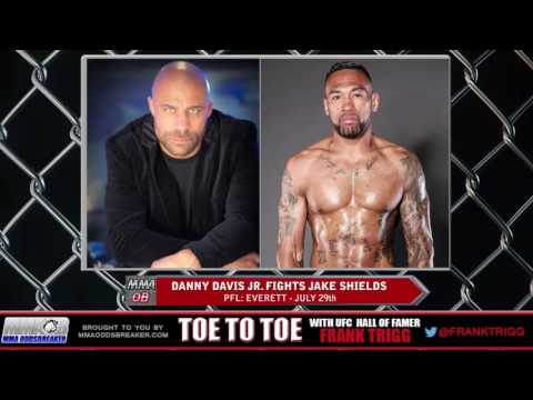 Frank Trigg pre-fight interview with PFL: Everett's Danny Davis Jr.