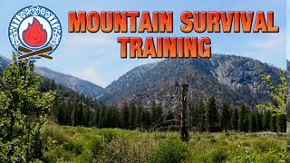 MOUNTAIN SURVIVAL TRAINING (Part 2) ★ Can We Survive