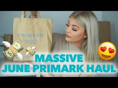 MASSIVE JUNE PRIMARK CLOTHING HAUL, BEST ONE YET! | AMY COOMBES