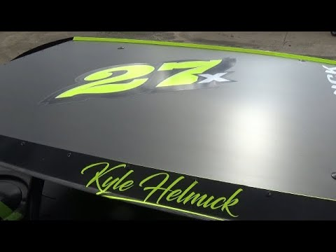 In Car Cam of Kyle Helmick at Belle-Clair Speedway 5-10-19