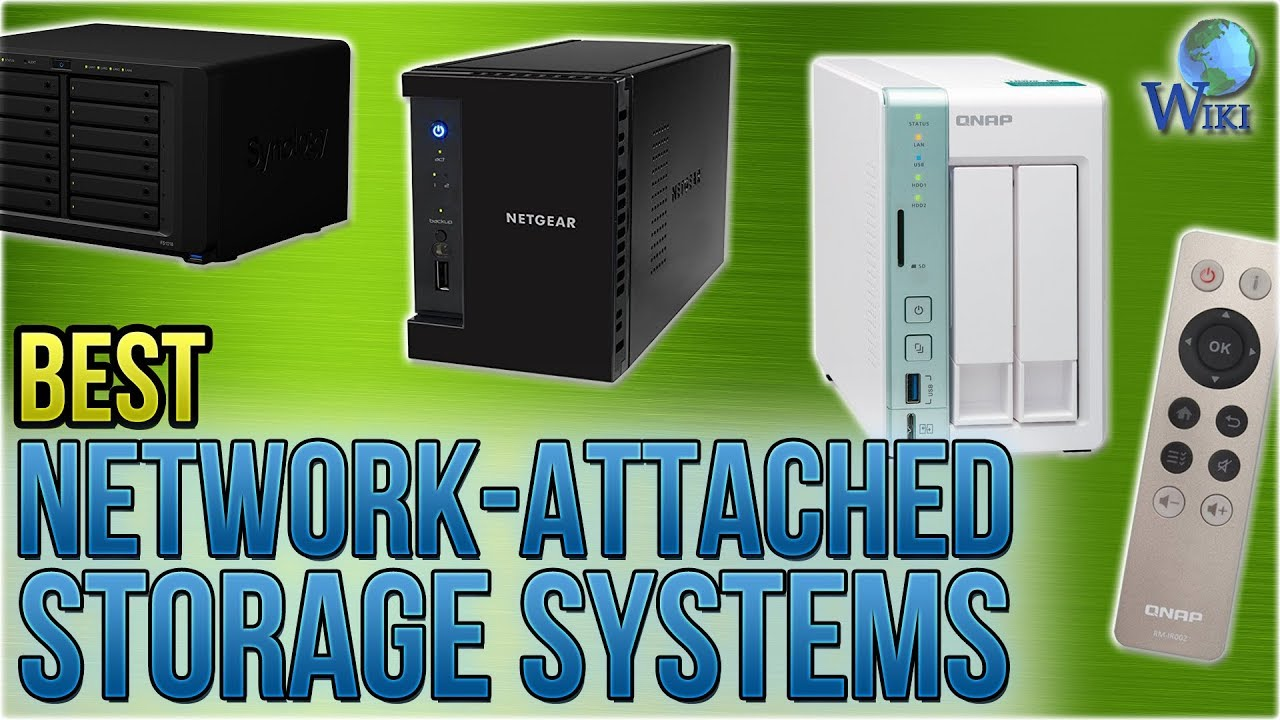 10 Best Network-Attached Storage Systems 2018 - YouTube