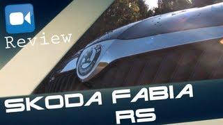 Skoda Fabia RS Combi Review (English Subtitles)