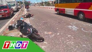 Xe khách gây tai nạn kinh hoàng trên cầu Bãi Cháy | THDT
