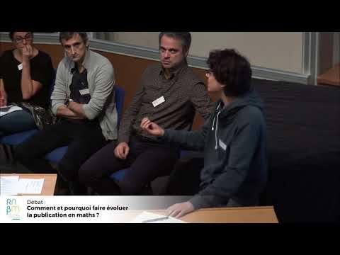 Débat : Débat : Comment et pourquoi faire évoluer la publication en maths ? »