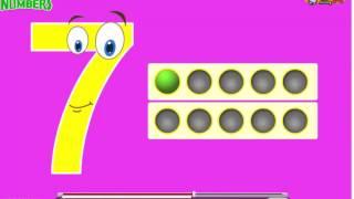 Песня Числа   научиться считать от 1 до 10   Количество Rhymes для детей