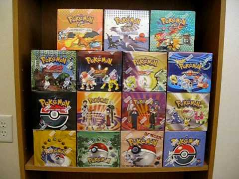 Pokemon Wizards Of The Coast Complete Sealed Booster Box