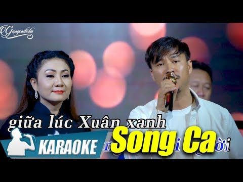 Trăm Năm Bến Cũ Karaoke Song Ca - Quang Lập & Thúy Hà
