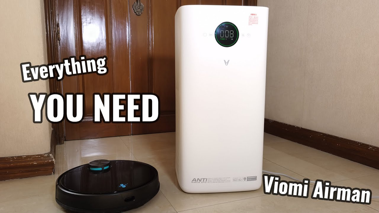 Viomi Airman TVOC Anti HEPA Air Purifier UV Mosquito Catcher - Just What I Really Need at Home Now!