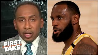 The Lakers clinching the No. 1 seed in the West 'means absolutely nothing' - Stephen A. | First Take