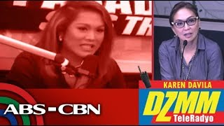 DZMM TeleRadyo: 'KaladKaren' answers rapid-fire questions from Karen Davila