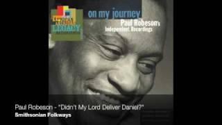 """Paul Robeson - """"Didn"""