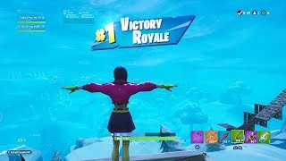 "FORTNITE First Win with ""ROX"" SKIN (FEMALE ""ROX"" OUTFIT Showcase) SEASON 9 PASS BATTLE"
