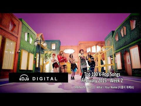 Top 100 K-Pop Songs for February 2015 Week 2