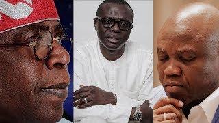 Tension as Tinubu reportedly dumps Ambode, endorses Jide Sanwo-Olu as next Lagos Governor 2019