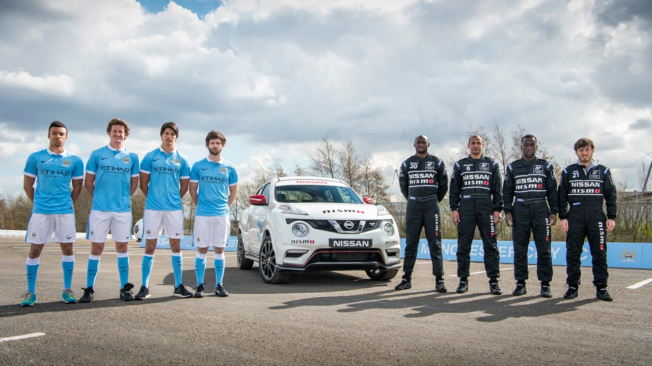 Nissan and MCFC's Dream Job Swap
