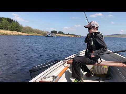 Early Summer Fly Fishing On Llyn Brenig