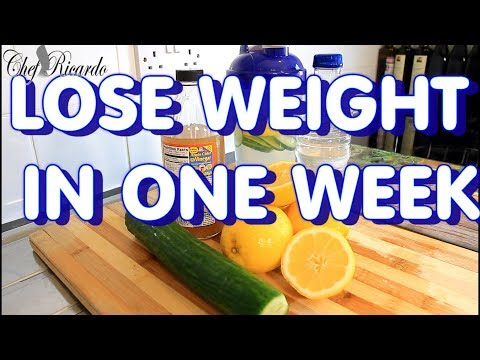 lose-weight-in-one-week-with-apple-cider-vinegar-!!