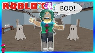 I AM THE GHOST!!! (Roblox Haunted Hunters)