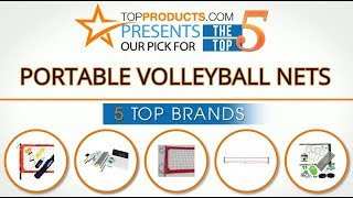 Best Portable Volleyball Net Reviews 2017 – How to Choose the Best Portable Volleyball Net