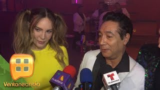 ¡Belinda y Los Ángeles Azules juntos! Se reunieron para grabar el video de 'Amor a primera vista'.