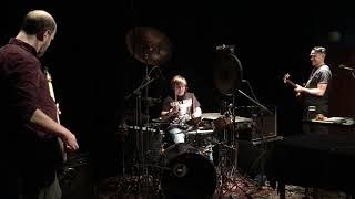 Simon drumming with Xiu Xiu