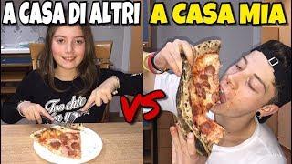 A CASA MIA VS A CASA DEGLI ALTRI