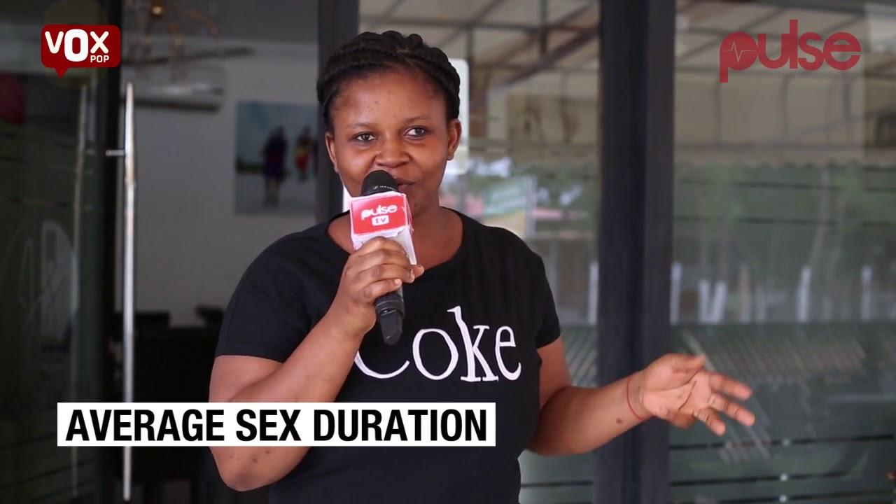 average sex duration
