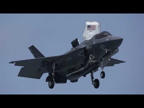 F-35B From USS Essex Conducts Its 1st Combat Strike