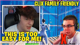 CLIX Made HISTORY After FIRST Ever FAMILY FRIENDLY Stream & Fortnite Win Without Swearing!(Fortnite)