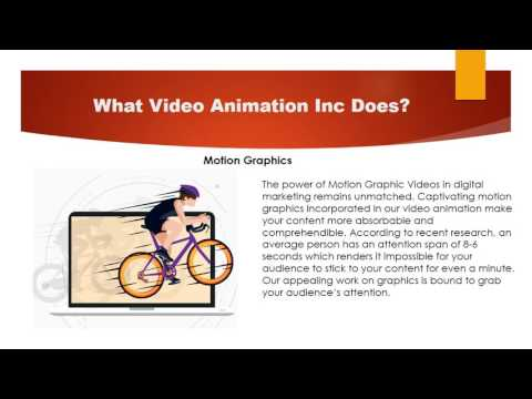 Why Video Animation Inc.