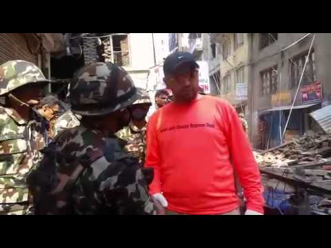 ZAKA and United Hatzalah search and rescue efforts in Nepal after Earthquake