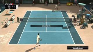 Top Spin 4 - Novak Djokovic vs Andy Roddick