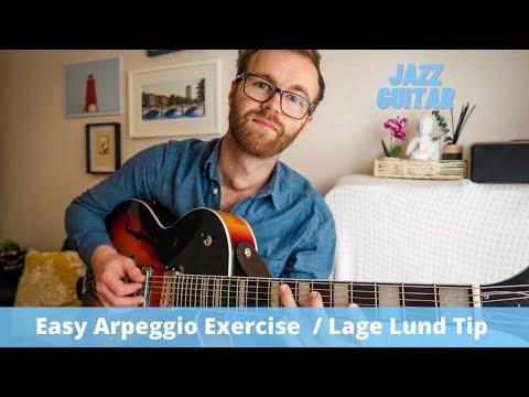 Easy Arpeggio Exercise // Lage Lund Tipp