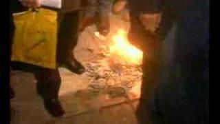 Ψωμιάδης - Κάψιμο βιβλίου Ανδρουλάκη (2000)